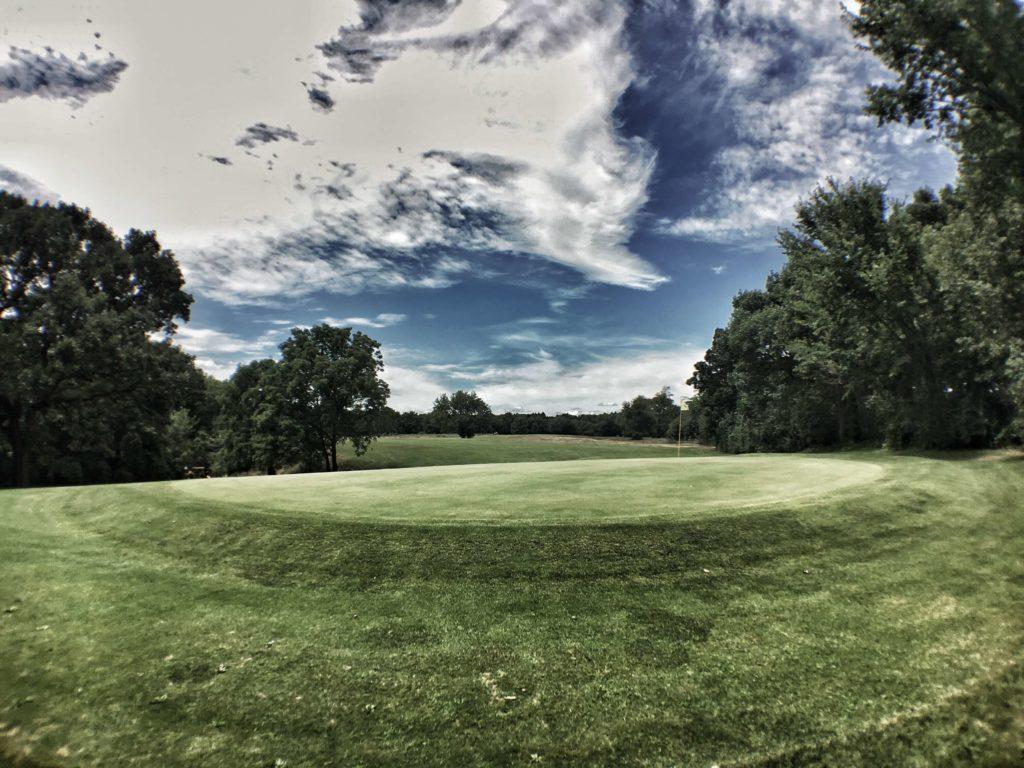 Eagle Springs Golf Resort - Hole 9 - Green