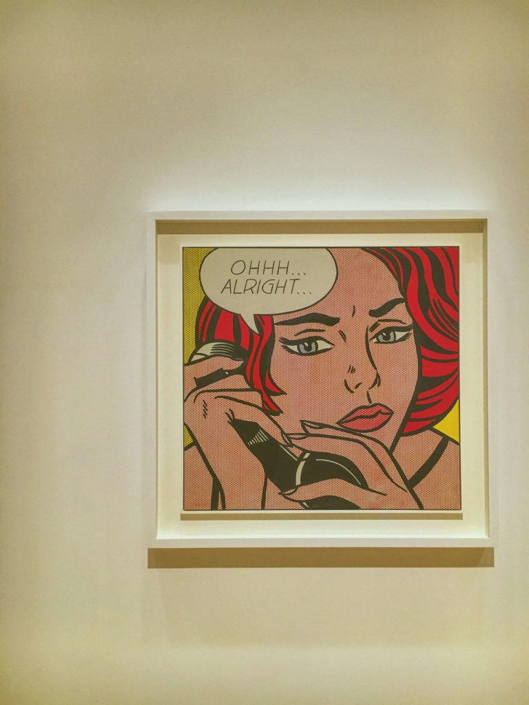 art institute of chicago - ray lichtenstein - modern art
